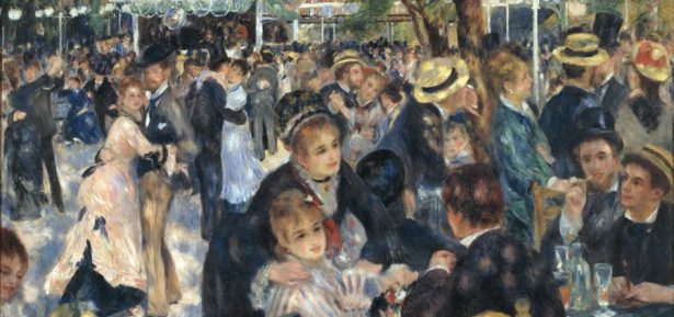 El 'Bal du Moulin de la Galette' de Renoir es pot veure a l'exposició de la Fundación Mapfre de Barcelona