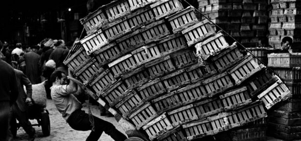 Xavier Miserachs. El Born, Barcelona, 1962