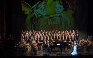 Música i sorra per a un màgic 'Conte de Nadal'…